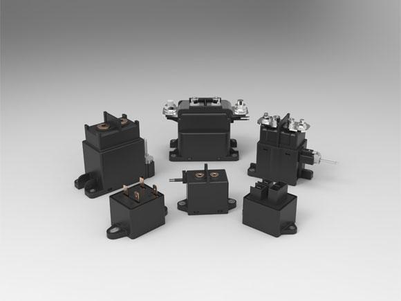 different kinds of DC contactors