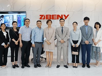 Australian Deputy Consul General visited ZJBENY 1