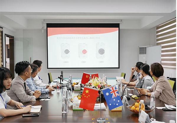 Australian Deputy Consul General visited ZJBENY 5