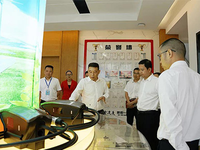 Municipal Secretary of Yueqing and Relevant Officials Visited ZJBENY